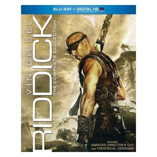Riddick-complete collection (blu ray w/digital hd w/ultraviolet/ur/3discs) 4JZ3LNNBKKYGMPF5