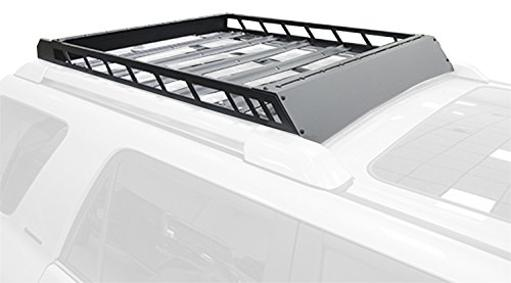 N-Fab Inc T102Mrf 10-16 4 Runner Fits All Styles 4 Door Roof Rack Alum Modular Roof Rack Textured