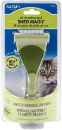 Safari Shed Magic De-Shedding Tool For Cats-Medium/Long Hair W6128