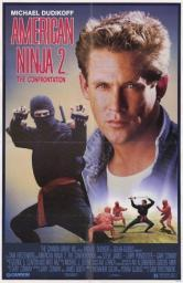 American Ninja 2 Confrontation Movie Poster (11 x 17) MOV203241
