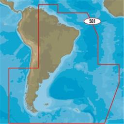 C-map Sa-y501 Gulf Of Paria To Cape Horn