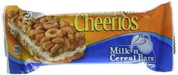 General Mills Honey Nut Cheerios Milk n Cereal Bar (12 Bars)