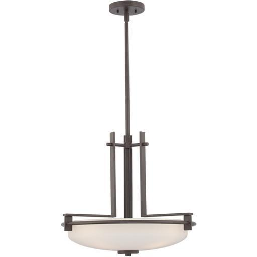 Quoizel TY2821WT Taylor Contemporary Inverted Pendant Light, Western Bronze