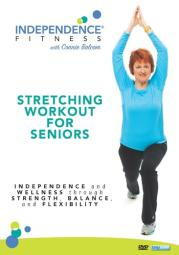Independence fitness-stretching workout for seniors (dvd)