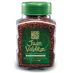 Juan Valdez Instant Decaffeinated Freeze-Dried Coffee 95 G /3.52 oz