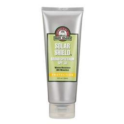 Brave Soldier Solar Shield SPF 30 Broad-Spectrum Hypoallergenic Sunscreen with Zinc Oxide for UVA and UVB Protection 4 Ounce