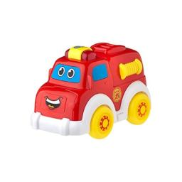 Playgro Baby Toy 6383865 Lights and Sounds Fire Truck for baby infant toddler children, Playgro is Encouraging Imagination with STEM/STEM for a bright future - Great start for a world of learning