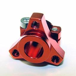 CRC 1/12 Team Double Clamp Hub Red