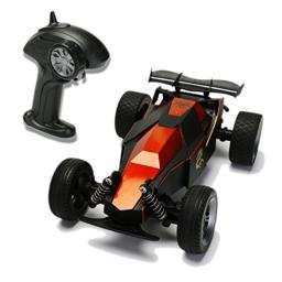ATTOP YD-003 1:24 Scale Remote Control Car High Speed Racing 2WD RC Vehicle Electric Radio Control Off Road Buggy Black