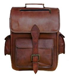 HLc Leather Handmade Vintage Style Backpackcollagecabin