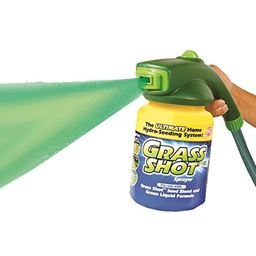 As Seen on TV  Grass Shot - The Ultimate Home Hydro-Seeding System