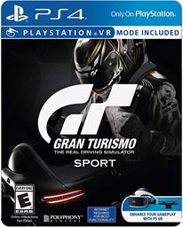 Gran Turismo Sport PlayStation 4 Limited Edition Steel Book