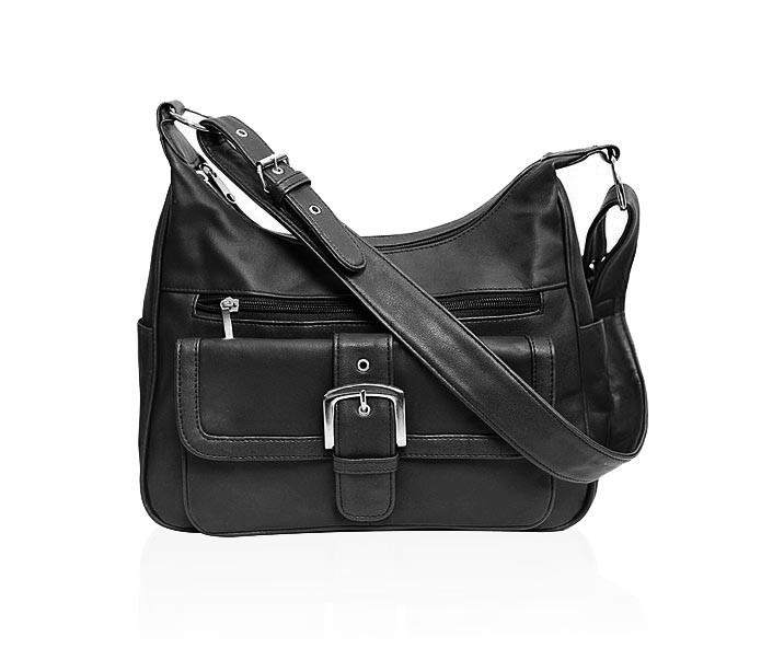 AFONiE  Leather Shoulder Bags Handbag