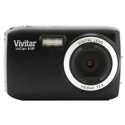 Vivitar VX137-BLK 121MP Digital Touch Screen Camera with 18-Inch LCD Screen - Body Only (Black)