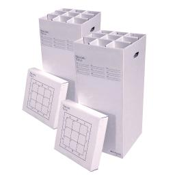 "AOS Office Rolling Storage File Manager 37-9-2PK Stores Rolled Items Up to 36"" in Length"