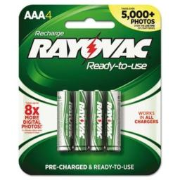 Rayovac BATTERY,RECHARGEABLE,GN