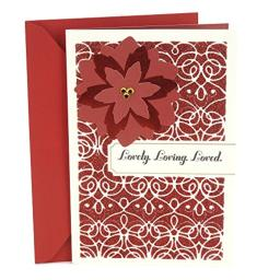 Hallmark Mahogany Romantic Christmas Card for Significant Other (Our Love and Life Together)
