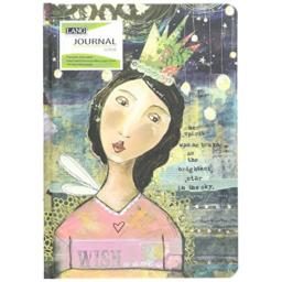 "Lang Bright Spirit Classic Journal by Kelly Rae Roberts, 6""x8"", 192 Ruled Pag..."