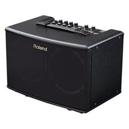 Roland AC-40 Acoustic Chorus Guitar Amplifier with Dual 17.5-Watt 6.5-inch Speakers, black