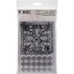 49 and Market GP-87537 Gabi's Tile Clear Stamps, Multicolor
