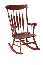 Gift Mark Adult Rocking Chair - Cherry Finish