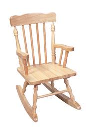 Gift Mark Childs Spindle Rocking Chair -Natural