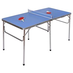 60 Portable Tennis Ping Pong Folding Table w/ Accessories""