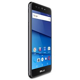 "BLU Grand XL LTE -5.5"" HD GSM Unlocked Smartphone with 13MP Main Camera -Black"
