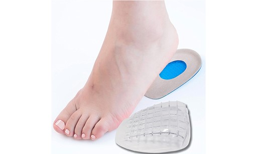 Premium Heel Cups Grips Kit Pads Women And Men, Heel Inserts, Plantar Fasciitis Inserts, Heel Spur, Foot-3 Pairs (6 Pieces)-Small B9D9A7FA1BCAE6FA