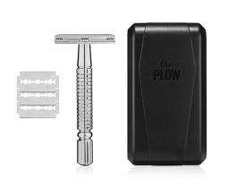 The Plow Manscaped Safety Razor Best Manscaping Shaver 0855676007101