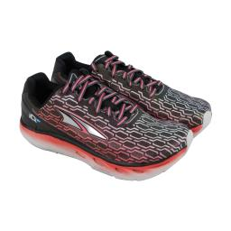 Altra IQ Womens Black Synthetic Athletic Lace Up Running Shoes