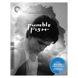 Rumble fish (blu ray) (ws/b&w/1.85:1/5.1 surr) BRCC2752