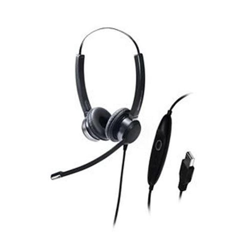 Addasound crystal-sr2822 addasound hi-end binaural usb headset