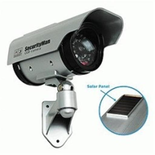Teklink Security SM-3803 Solar Power Outdoor-Indoor Dummy Camera with LED