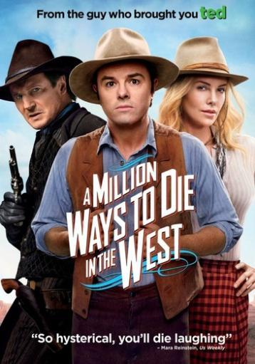 Million ways to die in the west (dvd) UGUWUHZ6YK6OT1TV