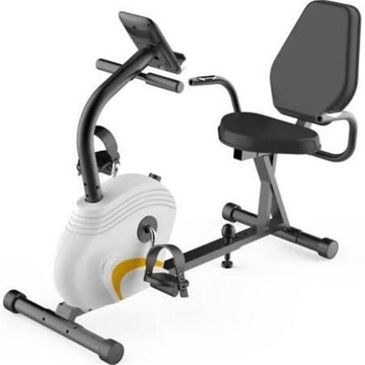 SereneLife SLXB3 Home & Office Recumbent Exercise Bike with Bicycle Pedaling Fitness Machine