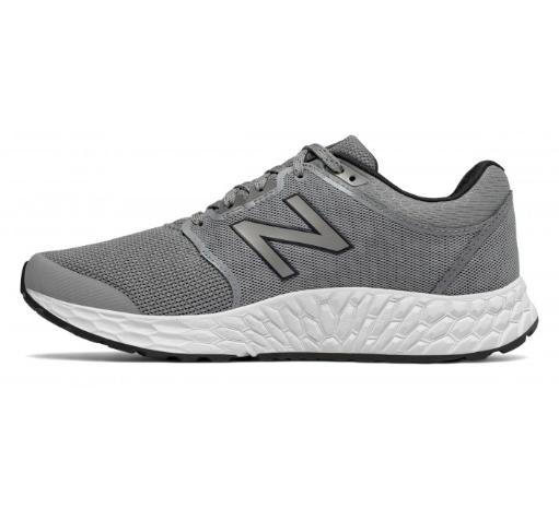 New Balance Mens mw1165gy fresh foam Canvas Low Top Lace Up Running Sneaker