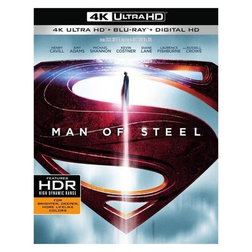 Man of steel (blu-ray/4k-uhd/digital hd/2 disc) HGBJNLDKD6MDMJGL