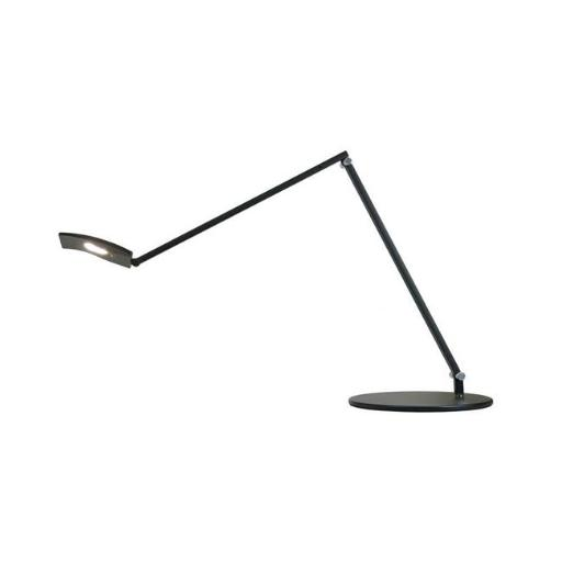 Koncept AR2001-MBK-USB Mosso Pro LED Desk Lamp with USB Base, Metallic Black