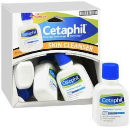 Cetaphil Gentle Skin Cleanser Lotion - 2 Oz Tray Of 12, Pack Of 2