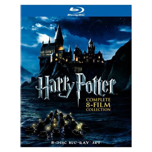 Harry potter-complete collection years 1-7ab (blu-ray/8 disc) 1284750