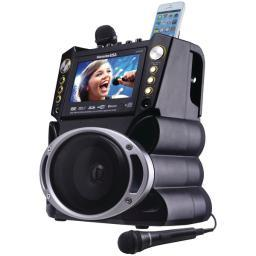 Karaoke usa gf844 bluetooth(r) karaoke machine GF844
