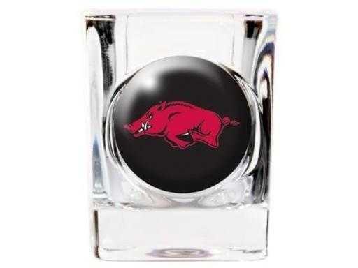 Arkansas Razorbacks NCAA 35mm Square Shot Glass VRDAABGIP0MWM1BS