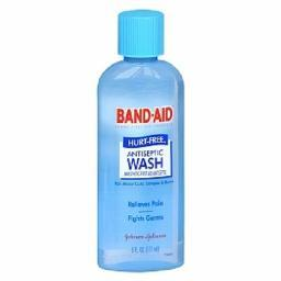 Band Aid Hurt Free Antiseptic Wash