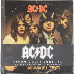 AC/DC Highway to Hell Album Cover Journal Notebook Diary