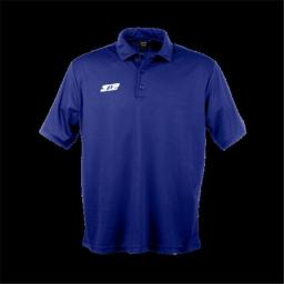 3N2 3100-03-L Mens Performance Polo Shirt, Navy Blue - Large