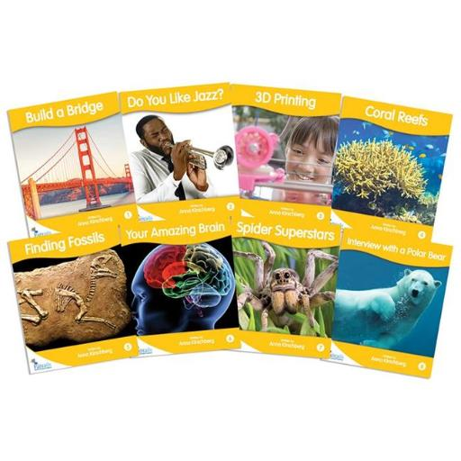 Junior Learning JRL449 Gold Non Fiction Fantails Book - Level M-N