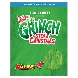 How the grinch stole christmas (blu ray/dvd w/digital/deluxe edition) BR61191336