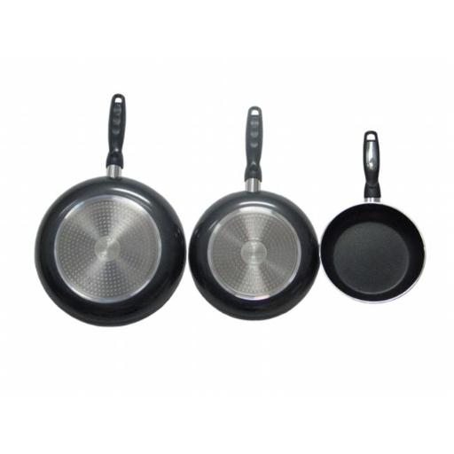 American Trading House Jl-Combob Gourmet Chef Professional Heavy Duty Induction Non Stick Fry Pan Set