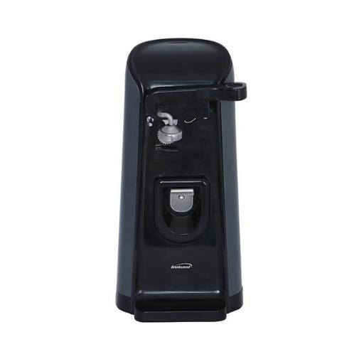 Brentwood J-30B Tall Electric Can Opener with Knife Sharpener & Bottle, Black
